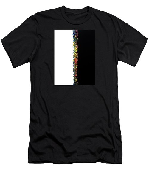 Men's T-Shirt (Athletic Fit) featuring the painting Kindergarten  by Robbie Masso