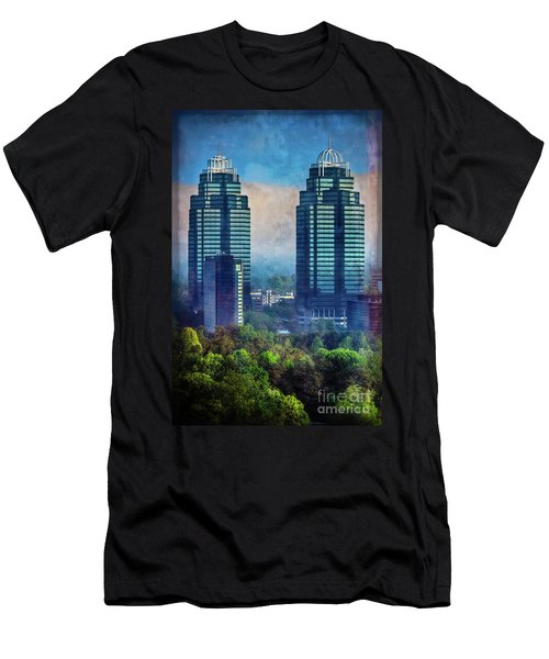 King And Queen Buildings Men's T-Shirt (Athletic Fit)