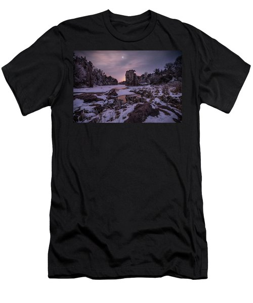 Men's T-Shirt (Slim Fit) featuring the photograph King Of Frost by Aaron J Groen