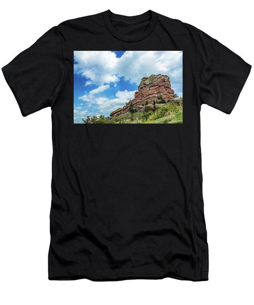 Men's T-Shirt (Athletic Fit) featuring the photograph King Of Rocks by Tyson Kinnison