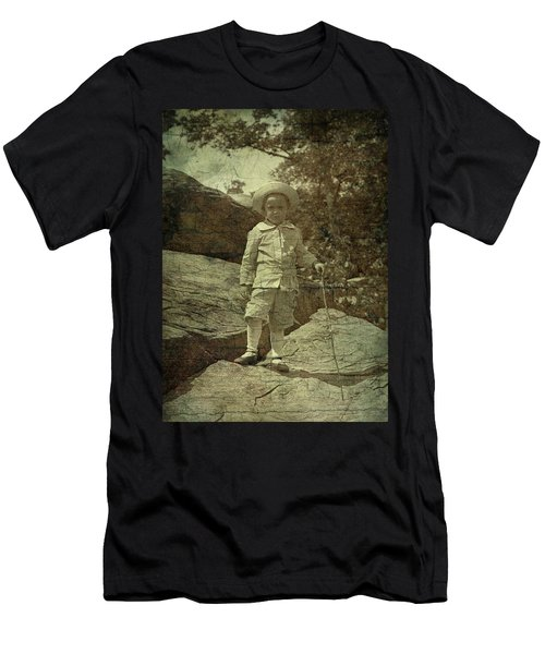 King Of The Mountaintop Men's T-Shirt (Athletic Fit)