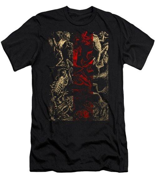 Kingdom Of The Golden Amphibians Men's T-Shirt (Slim Fit) by Serge Averbukh