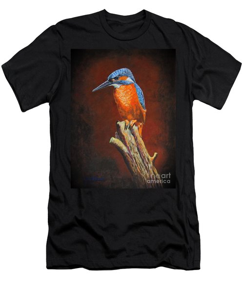 Kingfish.....waiting For Dinner Men's T-Shirt (Athletic Fit)