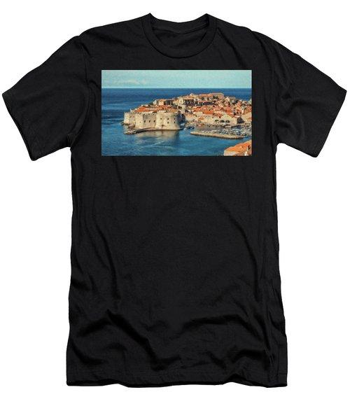Kings Landing Dubrovnik Croatia - Dwp512798 Men's T-Shirt (Athletic Fit)