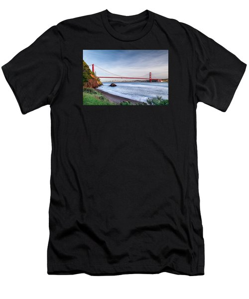 Kirby Cove Beach Men's T-Shirt (Athletic Fit)