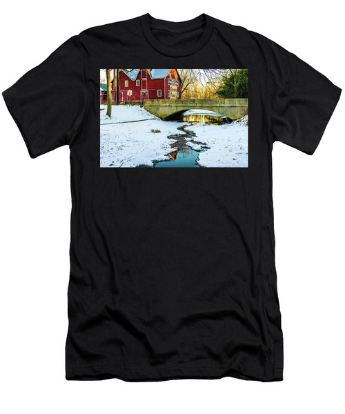 Kirby's Mill Landscape - Creek Men's T-Shirt (Athletic Fit)