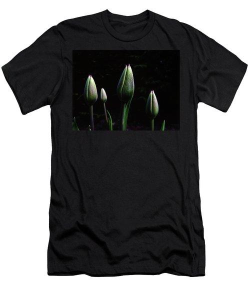 Kiss Kiss Men's T-Shirt (Athletic Fit)