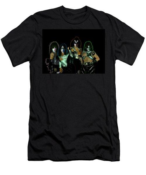 Kiss Solos Best Of Men's T-Shirt (Athletic Fit)