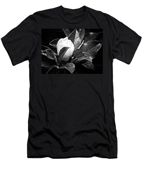 Men's T-Shirt (Slim Fit) featuring the photograph Kissed By Rain by Carolyn Marshall