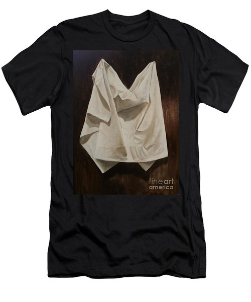 Painting Alla Rembrandt - Minimalist Still Life Study Men's T-Shirt (Athletic Fit)