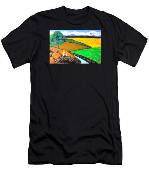 Kite Men's T-Shirt (Athletic Fit)