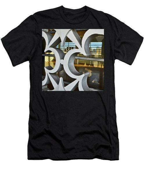 Kitsch Urban Details Men's T-Shirt (Slim Fit) by Carlos Alkmin