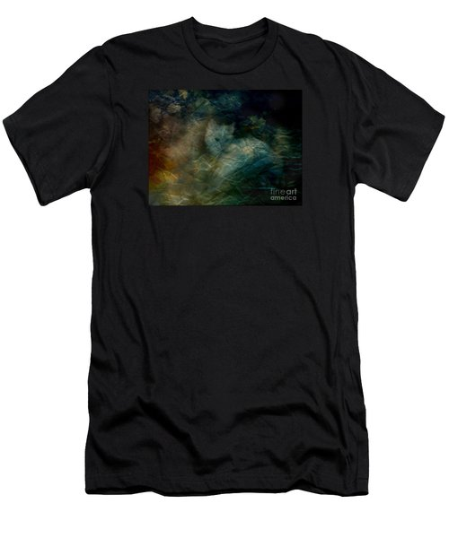 Men's T-Shirt (Slim Fit) featuring the photograph Kitty Art Rescue 1st Image  Please See Pg 2 By Sherriofpalmsprings by Sherri  Of Palm Springs