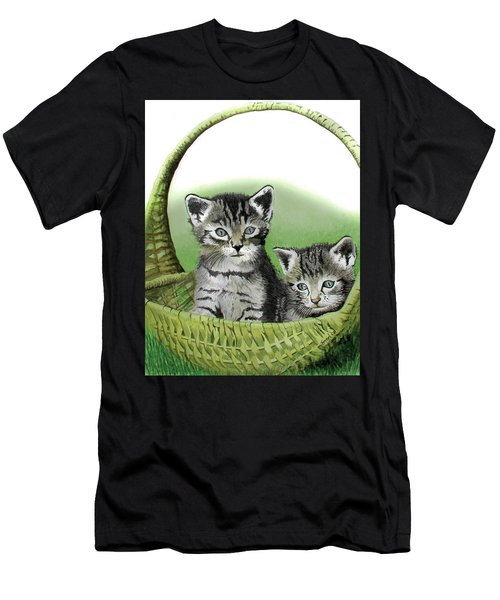 Kitty Caddy Men's T-Shirt (Athletic Fit)