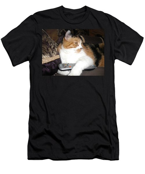 Kitty Control Men's T-Shirt (Athletic Fit)