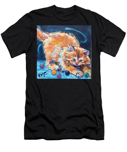 Kitty Keepsies Men's T-Shirt (Athletic Fit)