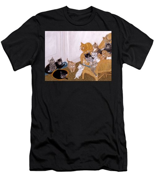 Kitty Litter II Men's T-Shirt (Athletic Fit)