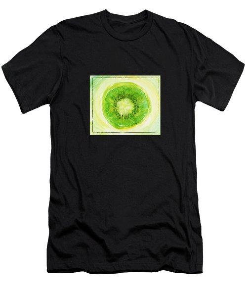 Kiwi Fruit Men's T-Shirt (Athletic Fit)