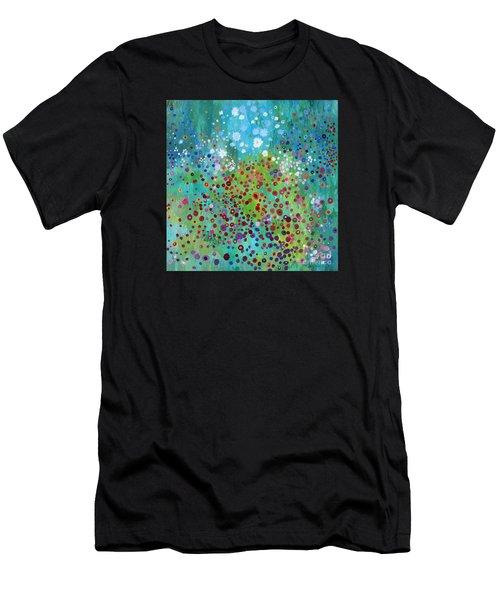 Klimt's Garden Men's T-Shirt (Athletic Fit)