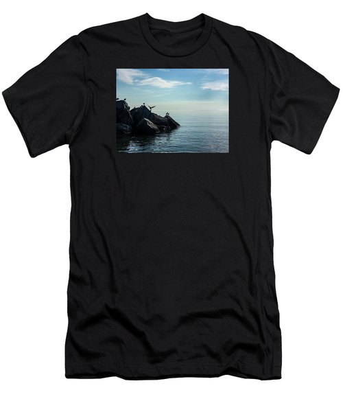 Klode Gulls Men's T-Shirt (Athletic Fit)