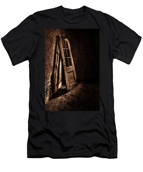 Knockin' At The Wrong Door Men's T-Shirt (Athletic Fit)