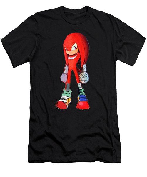 Knuckles Sketch Men's T-Shirt (Athletic Fit)