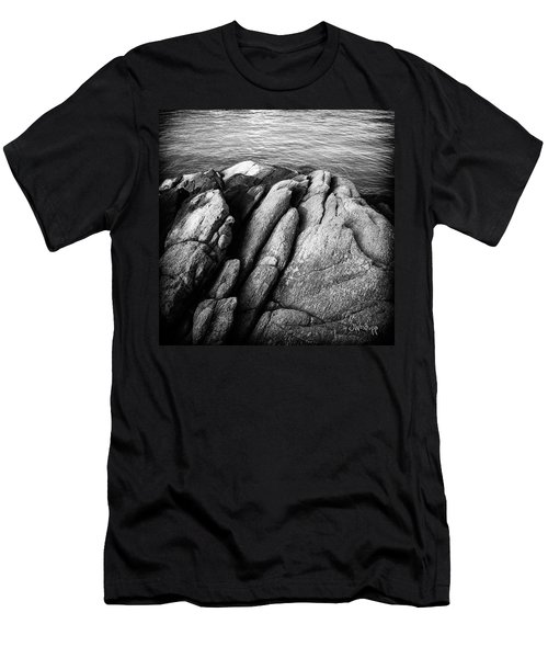 Ko Samet Rocks In Black Men's T-Shirt (Slim Fit) by Joseph Westrupp
