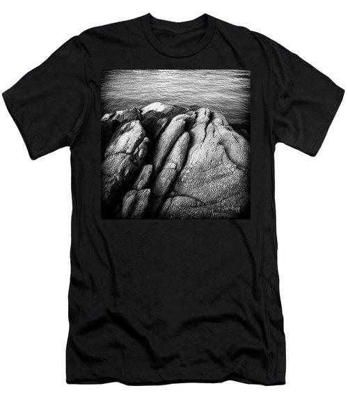 Ko Samet Rocks In Black Men's T-Shirt (Athletic Fit)
