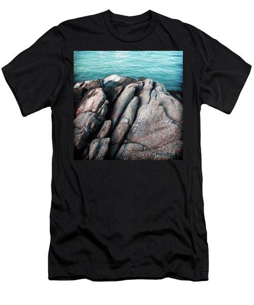 Men's T-Shirt (Slim Fit) featuring the photograph Ko Samet Rocks by Joseph Westrupp