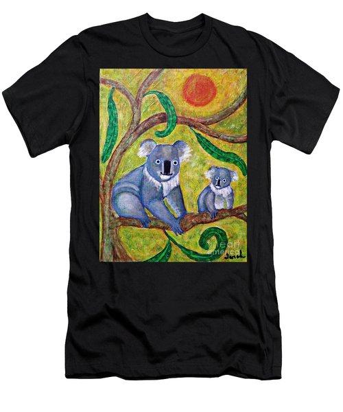 Koala Sunrise Men's T-Shirt (Athletic Fit)
