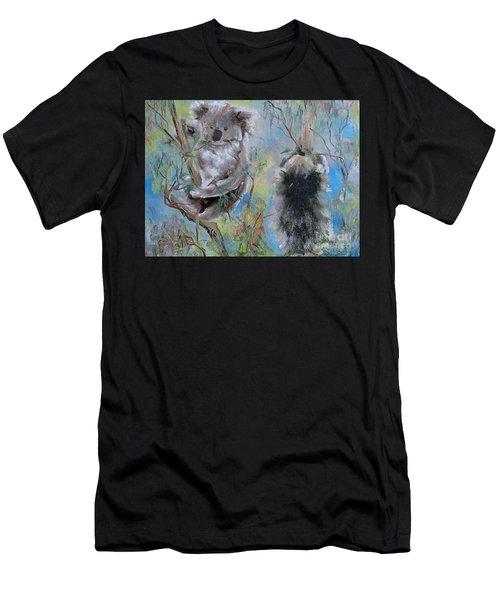 Koalas Men's T-Shirt (Athletic Fit)