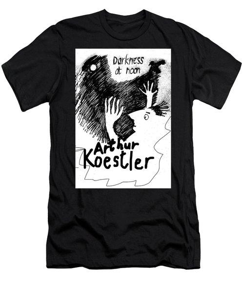 Koestler Darkness At Noon Poster  Men's T-Shirt (Athletic Fit)