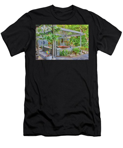 Koi Pond Men's T-Shirt (Athletic Fit)