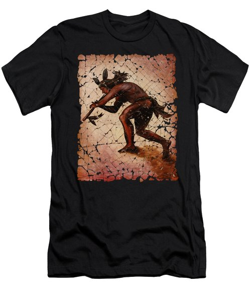 Kokopelli The Flute Player  Men's T-Shirt (Athletic Fit)