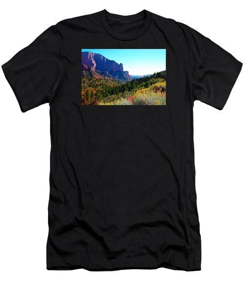 Kolob Canyon Men's T-Shirt (Athletic Fit)