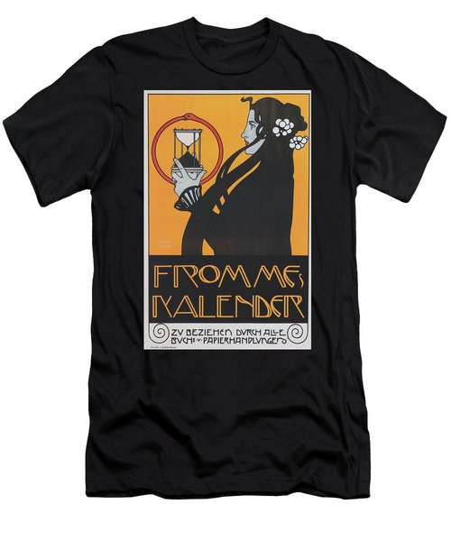 Koloman Moser Plakat  Fur Frommes Kalender 1899 Men's T-Shirt (Athletic Fit)