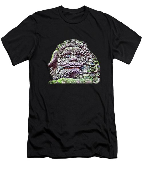 Men's T-Shirt (Athletic Fit) featuring the photograph Komainu22 by Yoshimitsu Takuki