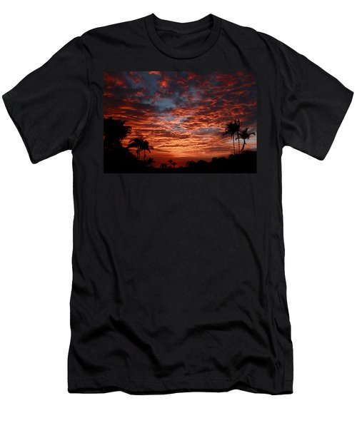 Kona Fire Sky Men's T-Shirt (Athletic Fit)