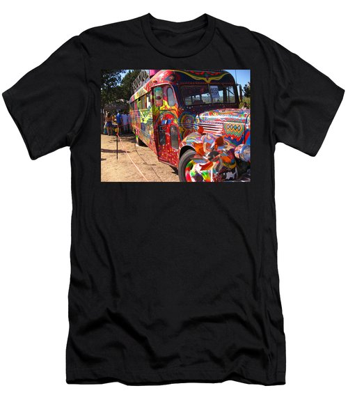Kool Aid Acid Test Bus Men's T-Shirt (Slim Fit) by Kym Backland