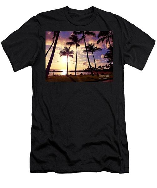 Koolina Sunset Men's T-Shirt (Athletic Fit)
