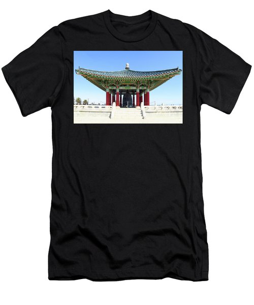 Korean Friendship Bell In Los Angeles Men's T-Shirt (Athletic Fit)