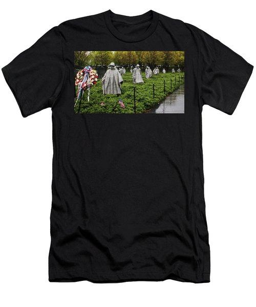 Korean War Veterans Memorial Men's T-Shirt (Athletic Fit)