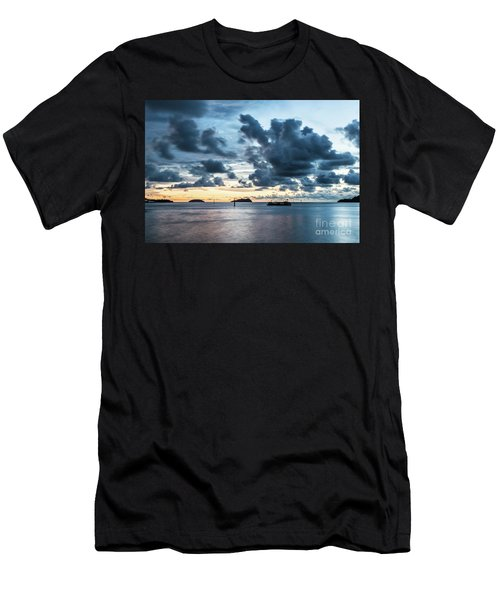 Kota Kinabalu Sunset Men's T-Shirt (Athletic Fit)