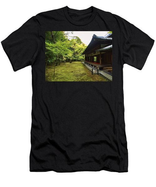 Koto-in Zen Temple Maple And Moss Garden - Kyoto Japan Men's T-Shirt (Athletic Fit)