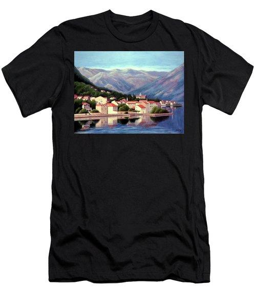 Kotor Montenegro Men's T-Shirt (Athletic Fit)