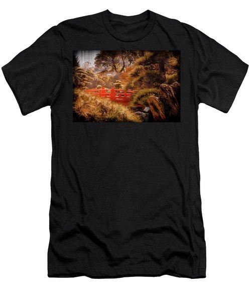 Kowloon - Red Bridge Men's T-Shirt (Athletic Fit)