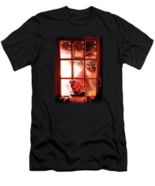 Krampus Men's T-Shirt (Athletic Fit)
