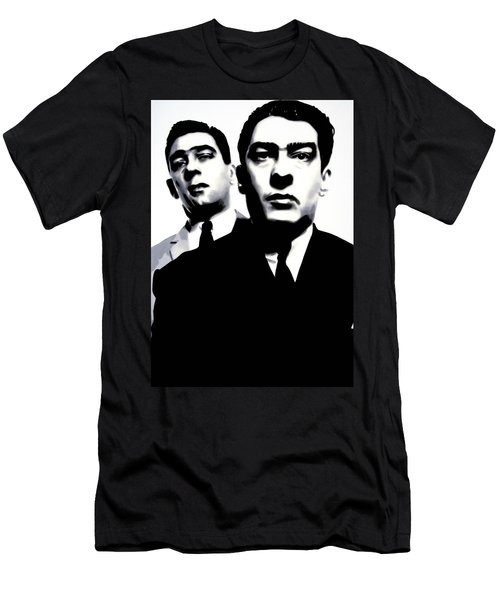 Kray Twins Men's T-Shirt (Slim Fit) by Luis Ludzska
