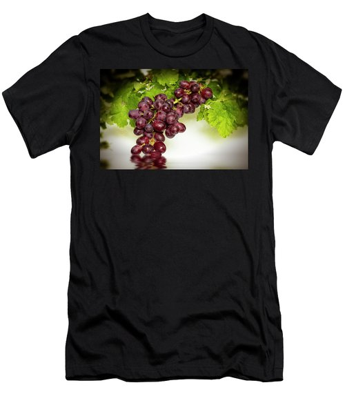 Krissy Gold Grapes Men's T-Shirt (Athletic Fit)