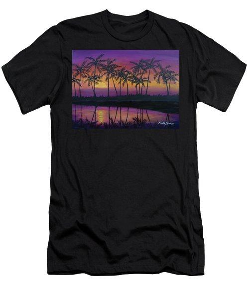 Kristine's Sunset Men's T-Shirt (Athletic Fit)
